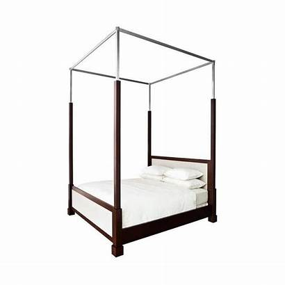 Canopy Bed Powell King Nickel Frame Sanctuary