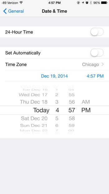 does iphone change time for daylight savings how to change the date and the time on an iphone solve