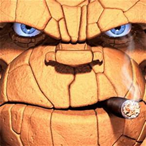 Really Cool Animated GIF of the Thing - Mifty is Bored