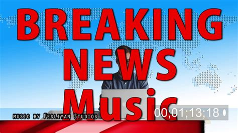 Breaking News Music (5 Background Tracks ) Newscast