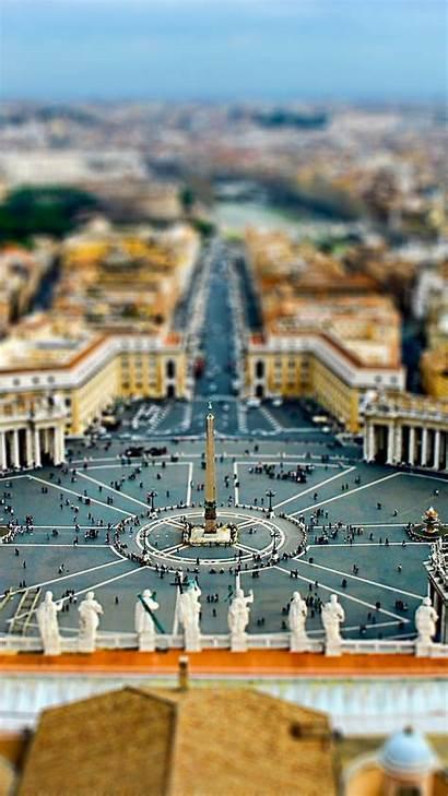 Vatican Rome Cityscapes Tiltshift Mobile