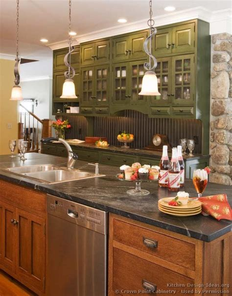 green and kitchen ideas pictures of kitchens traditional green kitchen cabinets