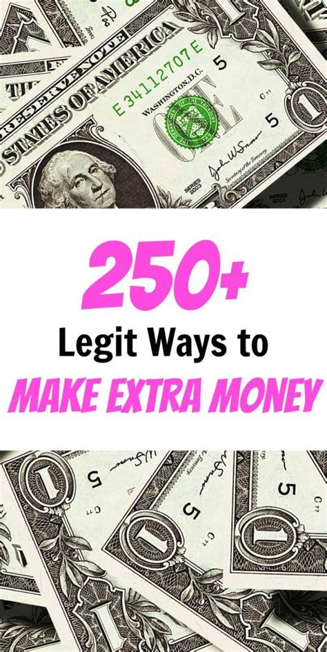 250+ Proven Ways To Make Extra Money In 2019 The Ultimate Guide