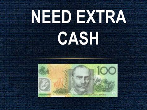 PPT - Need Extra Cash: Quick Finance Without Much Of ...