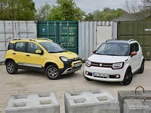 Avis Fiat Panda 4x4 : comparatif suzuki ignis et panda 4x4 suv de poche challenges ~ Medecine-chirurgie-esthetiques.com Avis de Voitures