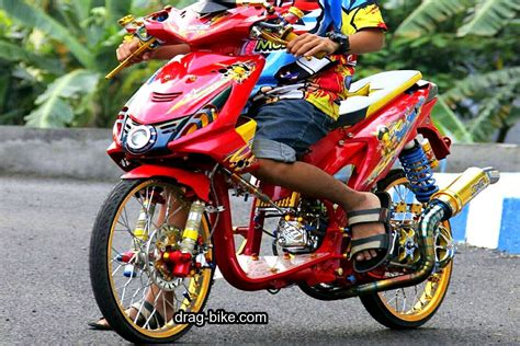 Modifikasi Motor Matic Beat by Modifikasi Motor Beat Fi Hitam Babylook Kumpulan Gambar
