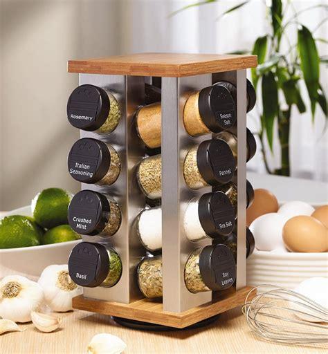 Spice Rack Refills kamenstein warner 16 jar revolving spice rack with