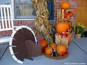 Thanksgiving decoration ideas to welcome your guests for How to decorate front yard for thanksgiving