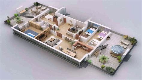 simple 2 house plans one floor house design plans 3d