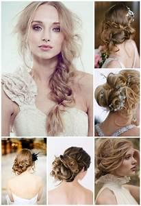 Coiffure Femme Pour Mariage : coiffures pour un mariage de printemps ~ Dode.kayakingforconservation.com Idées de Décoration
