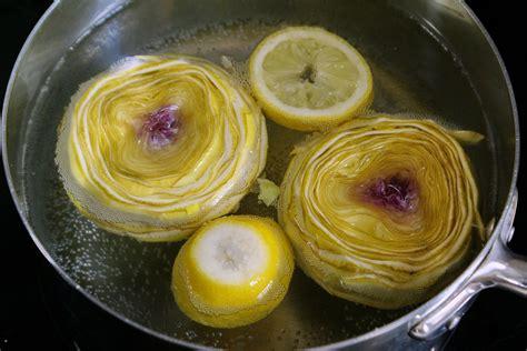 cuisiner artichaut recettes de fond d 39 artichaut par chef simon cuire et parer un fond d 39 artichaut