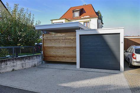 Vorteile Carport Garage by Anbauvarianten