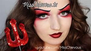 Devil Makeup For Female - Mugeek Vidalondon