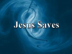 Jesus Saves Wallpaper