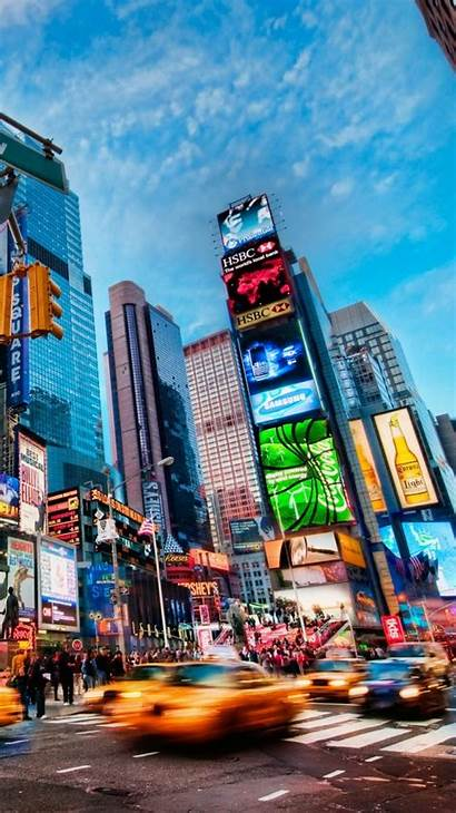 Iphone York Square Times Wallpapers Phone Nyc