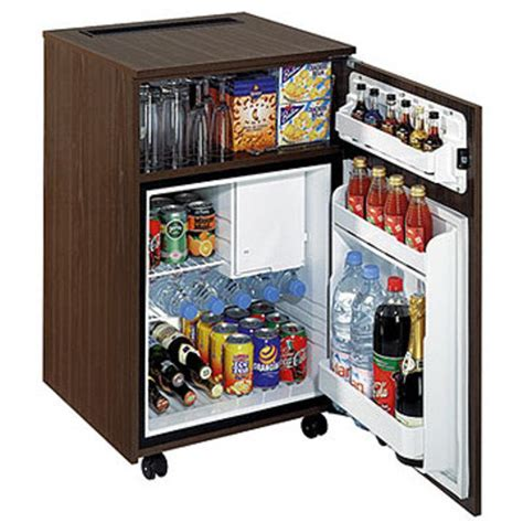 frigo de bureau table de cuisine