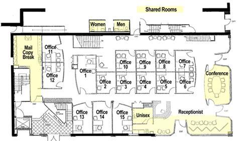 executive office suite floor plan office floor plan 187 17th central executive suites Executive Office Suite Floor Plan