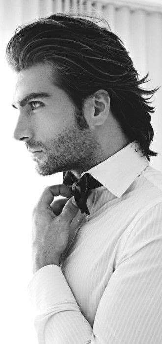 cool  hairstyles  men  medium hair styles