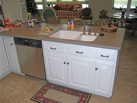 kitchen peninsula with sink countertop styles materials ds woods custom cabinets 5519