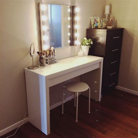 vanity lights ikea best 25 ikea vanity table ideas on makeup