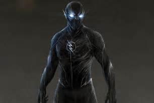 Zoom Blue Flash CW Concept Art