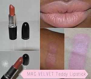 Foxy et Al.....: Nude Lipstick Loving- MAC'S Velvet Teddy