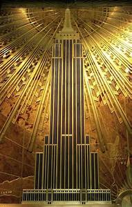 The great gatsby style art deco aphrochic modern for Empire state building art deco interior
