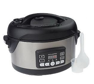 Kitchen Essentials Cooker by Cooksessentials 5qt Oval Stainless Steel Digital Pressure