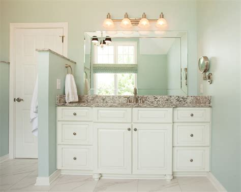 blue green paint colors contemporary bathroom