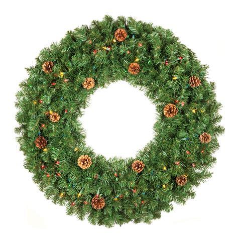 artificial christmas wreaths winchester fir prelit
