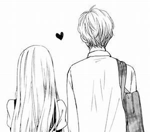 Cute Cartoon Couple Drawings Tumblr - Drawing Of Sketch