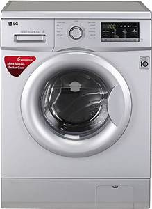 Lg 6 5 Kg Fully Automatic Front Load Washing Machine Silver Price In India