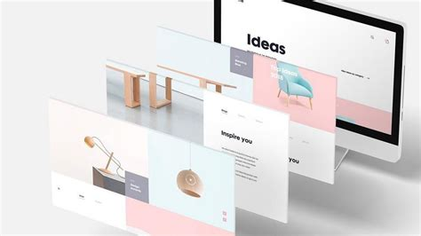 A collection of three stationery mockups, featuring letterheads, envelopes, business cards, and office utensils. Free 3D Desktop Screen Mockup | Postcard mockup, Web ...