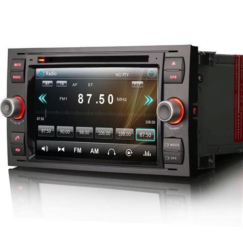 ford focus mk2 mk6 transit mk7 unit gps radio stereo satnav dvd bt ebay