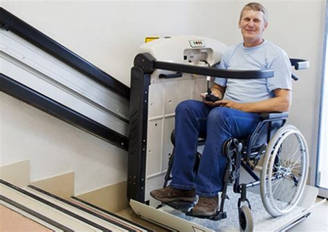 Functional Wheelchair Stair Lift Model For Easy Usage