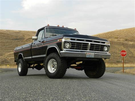 70s Ford Truck Wallpaper by The 1975 F 250 Is The Alpha Of Classic Trucks Ford