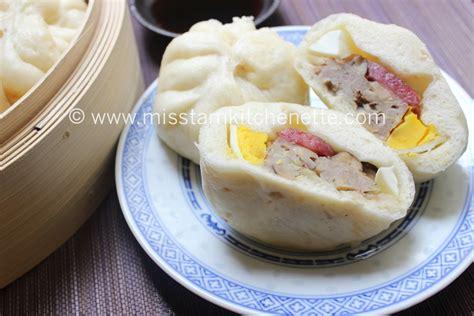 cuisiner un poulet au four banh bao brioche à la vapeur farcie au porc et aux