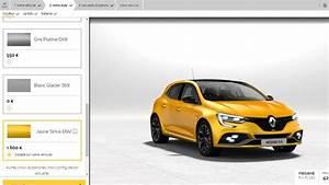 Configurateur Renault Megane : le configurateur et le prix de la renault m gane 4 rs est en ligne ~ Medecine-chirurgie-esthetiques.com Avis de Voitures