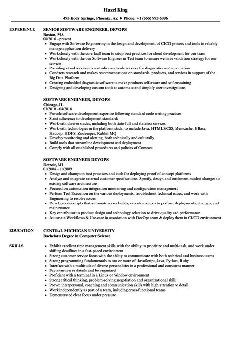 Engineer, Devops Resume Samples  Velvet Jobs. Resume Builder Software. Seo Resume. Material Manager Resume Examples. Describing Volunteer Work In A Resume. Good Resume Example. Csuf Resume Builder. Hard Skills For Resume. Professional Resume Template