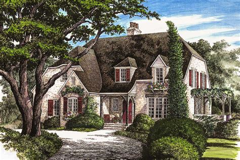 elegant french country home wp architectural designs house plans