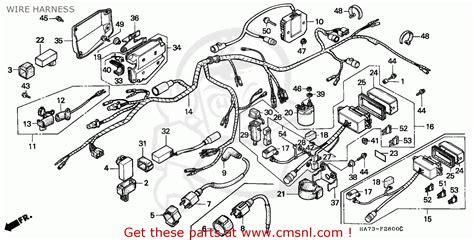 diagram 1986 honda trx 350 wiring diagram