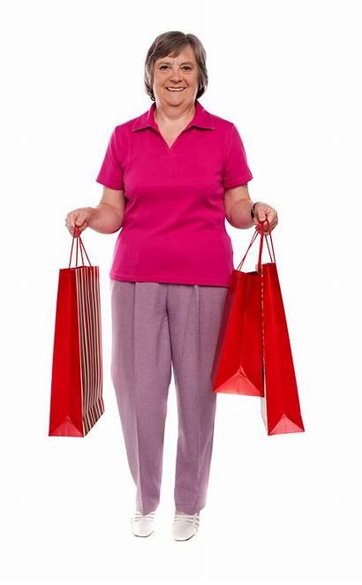 Shopping Holding Bag Royalty Autonomy Nutrition Senior