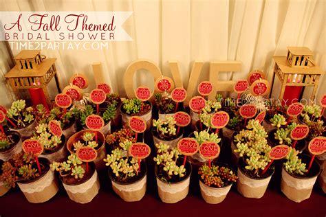fall themed bridal shower timepartaycom