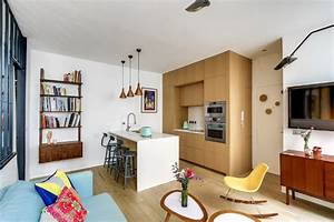 36 Square-Meters Apartment Design Optimized by Transition ID