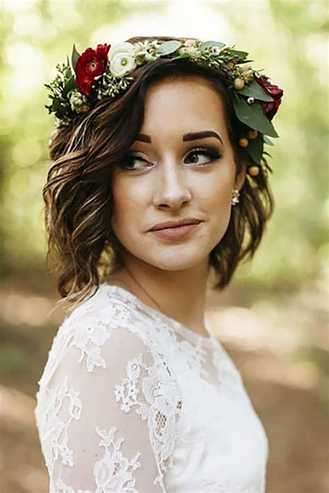 Wedding Hairstyles For Bob Hair by 30 Stunning Wedding Hairstyles Every Hair Length Wedding
