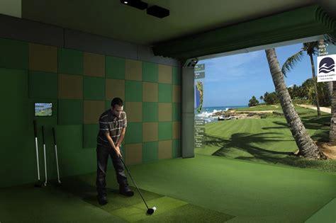home theaters golf room golf simulators indoor golf