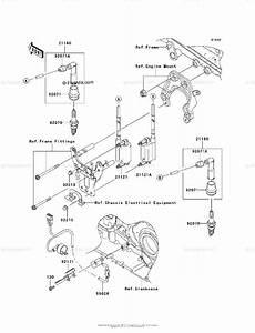 Kawasaki Motorcycle 2004 Oem Parts Diagram For Ignition