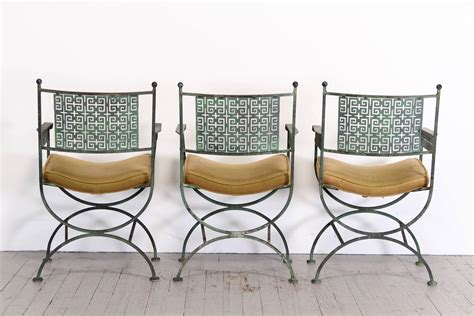 seven wrought iron patio set by shaver howard 1960