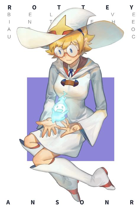 Lotte Jansson Little Witch Academia Drawn By Krion
