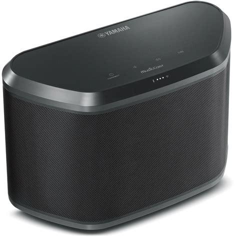 Yamaha Wx 030 Musiccast Wireless Speaker Black Wx 030bl B H